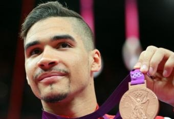 Louis Smith of Team GB