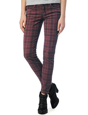 Soho Plaid Skinny Twill Pant | Splendid Official Store