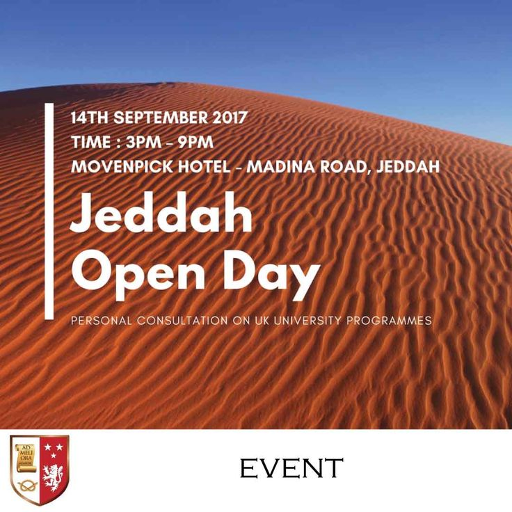 | Jeddah Open Day - Personal Consultation on UK University Programmes |  Stafford can cater to all your education needs, be it a Certificate, Diploma, Bachelor, Masters, MBA and Doctorate programme. Let us help you enrol with one of our internationally accredited partners from the UK.   For an immediate assessment of your eligibility, please bring a copy of your CV, Degree Certificate and Marksheets _________________________ Event Date : 14 September 2017 Time : 3pm – 9pm Venue : Movenpick…