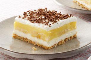 Banana Pudding Squares recipe: Desserts, Banana Pudding, Squares Recipe, Sweet, Puddings, Bananas, Food, Savory Recipes, Pudding Squares