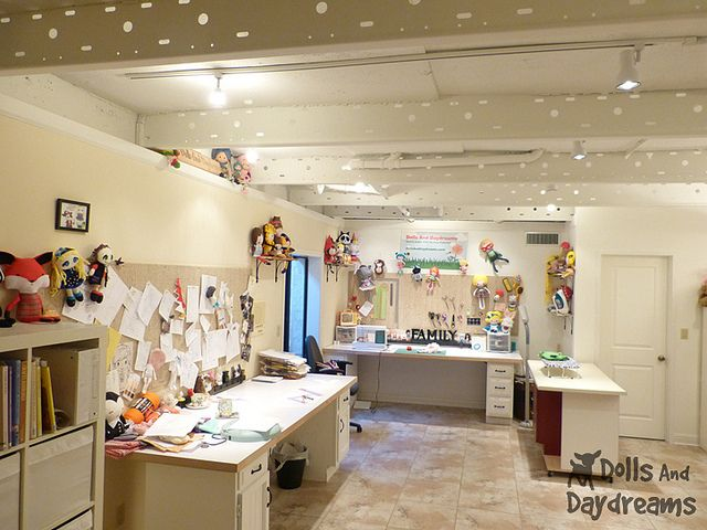 Sewing Room Make Over DIY Dolls And Daydreams 1A by Dolls And Daydreams, via Flickr