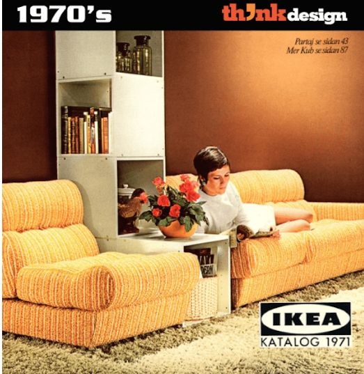 IKEA's Design Evolution From 1950s To 2010s, Based On Their Catalog Covers. #ikea #catalog #catalogue #design http://designtaxi.com/news/382991/IKEA-s-Design-Evolution-From-1950s-To-2010s-Based-On-Their-Catalog-Covers/