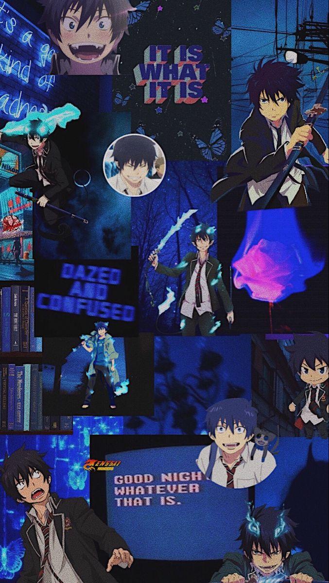 Blue Exorcist Rin Aesthetic Wallpaper Anime Wallpaper Anime Wallpaper Iphone Cute Anime Wallpaper