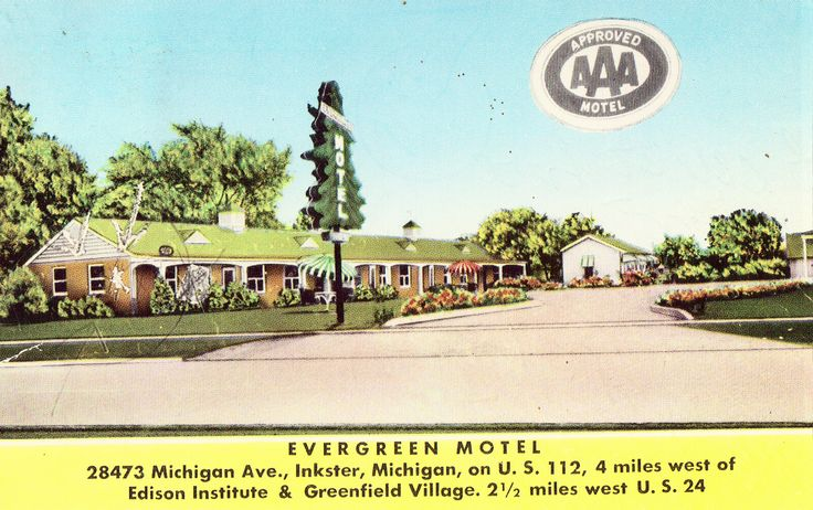 Evergreen Motel - Inkster,Michigan