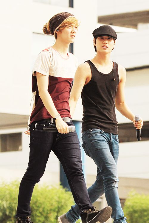 Luhan & Kai ♥ I'm whistling right now:)
