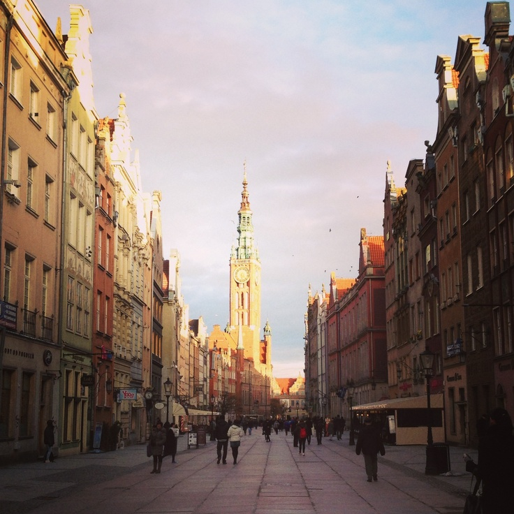 Dulga Street, Gdansk, Poland