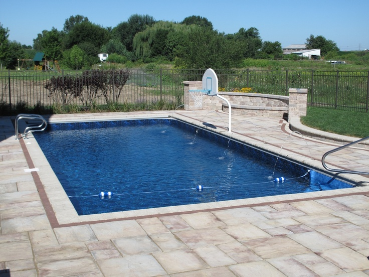 1000 images about rectangle pools on pinterest parks for Built in pools