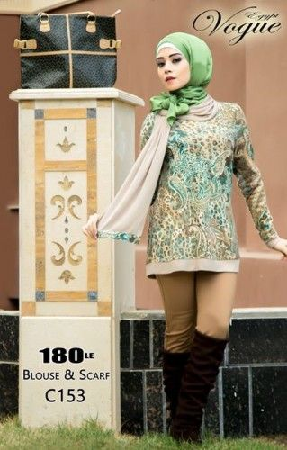 Vouge Egypt winter hijab fashion | Just Trendy Girls