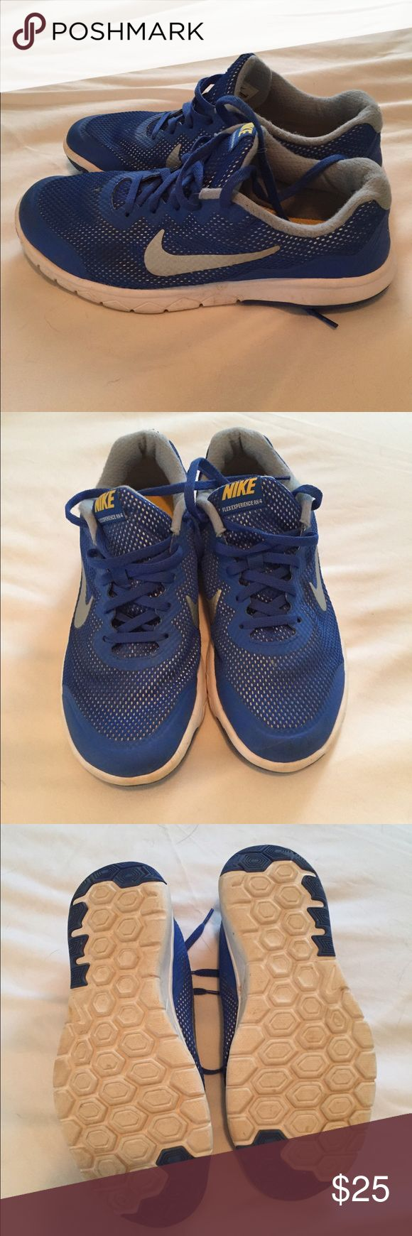 Boys Nike Flex Experience RN 4 Shoes Used Boys Nike size 6Y shoes. Gently used, in excellent condition. Make offer, bundle and save!! 😁 Nike Shoes Sneakers