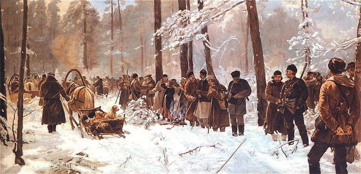 Охота в Несвиже 1891 г.