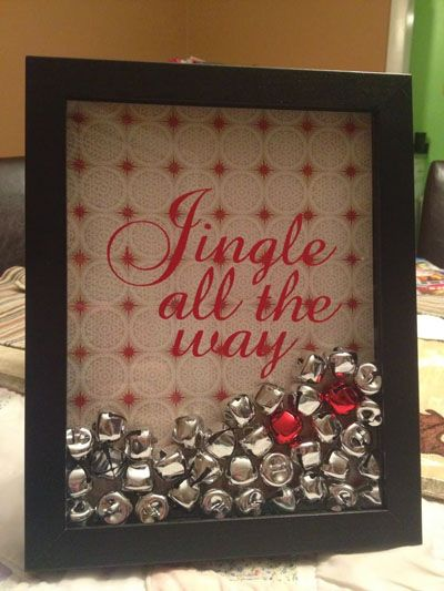 Start this tradition as newlyweds! At a silver bell every year during the holidays, and a red bell for years when you have a baby.