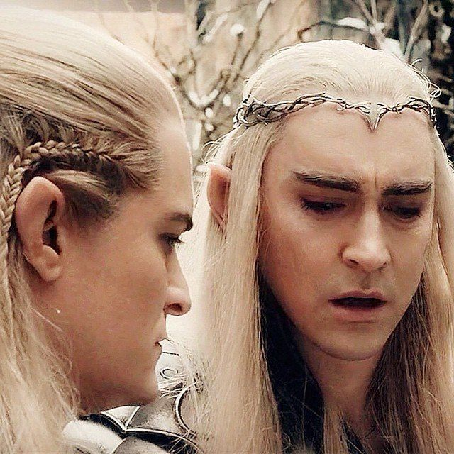 Father and son | Legolas and thranduil