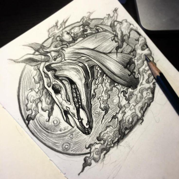 1 #tattoodesign #horse #tattoo #sketch #tattoosketch #doddle #artwork #blackworktattoo #blackink #말타투 #타투 #타투도안 #타투스케치