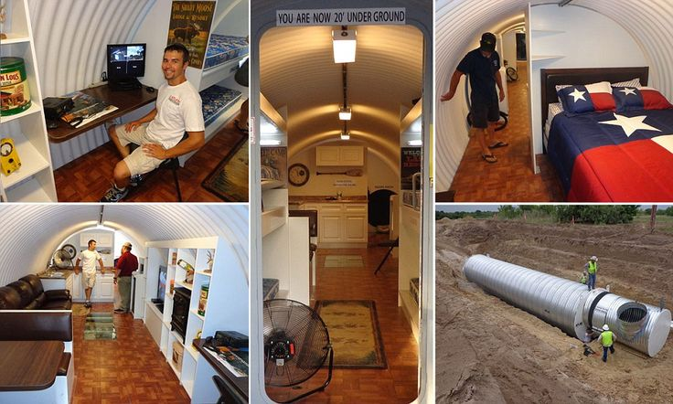 Inside america 39 s luxury bomb shelters the underground homes which have enough space for pools - The subterranean house fighting small spaces ...