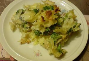 Zapečené těstoviny s kuřecím masem a s brokolicí Recepty.cz - On-line kuchařka