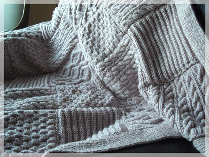 les 25 meilleures id es de la cat gorie plaid tricot sur. Black Bedroom Furniture Sets. Home Design Ideas