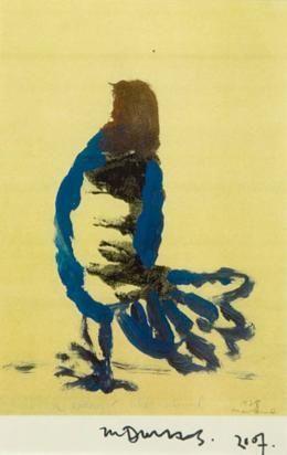 Marlene Dumas A woman's like a bird 2008-11 / SW / 13.440 ZAR