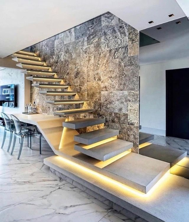 7 Ultra Modern Staircases: Pin By Jennifer Karatchuk-Proctor On Staircases