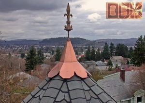 CBD's Functional / Decorative Custom Turret & Gazebo Roof Cap Fabrication Main Information & Navigation Page