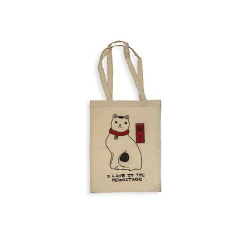 #Tote #bag inspiré de l'oeuvre A Japanese Cat de Utagawa #Kuniyoshi Prix 14 euros TTC