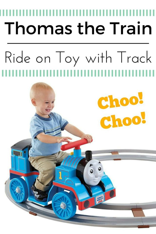 Thomas the Train Ride On Toy with Track - Cool Toys!