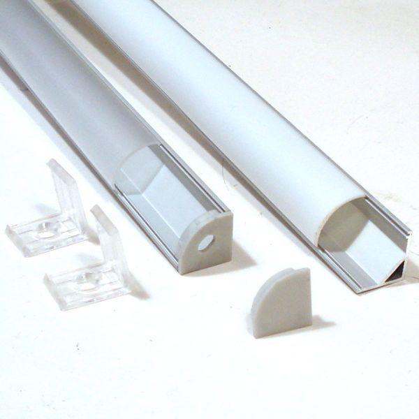 Corner Aluminium Extrusion For Led Strip Click Image To Close Led Strip Lighting Strip Lighting Led Shelf Lighting