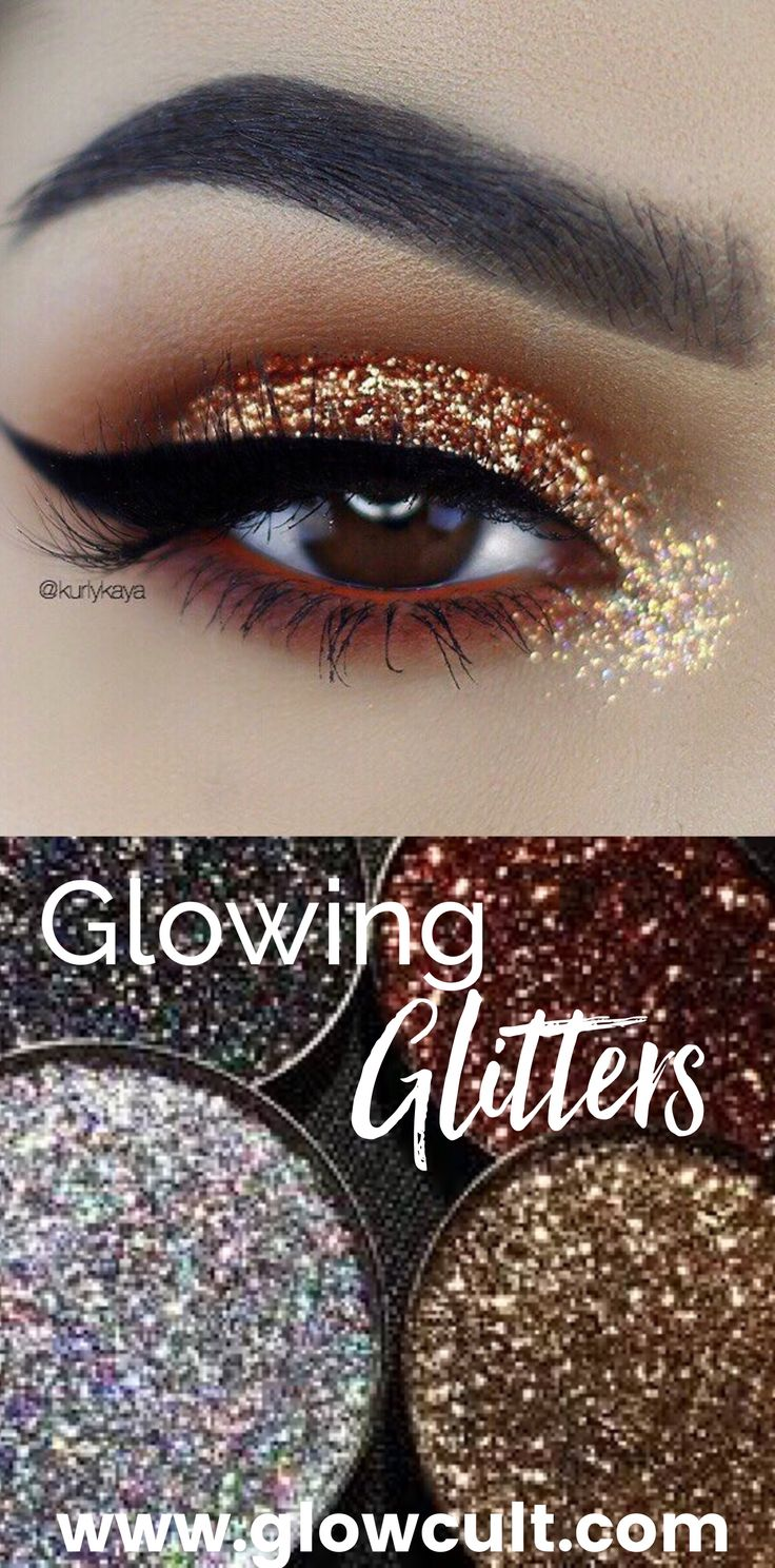 Must haves for the makeup enthusiast Prettiest glitters, shadows, highlights and lashes from www.glowcultcosmetics.com Beautiful makeup looks Inspiration tutorial ideas organization make up eye makeup eye brows eyeliner brushes contouring lipstick highlight strobe lashes tricks Unicorn makeup brushes