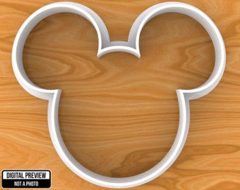 Minnie Mouse Cookie Cutter Selectable sizes. by Vectorpattern