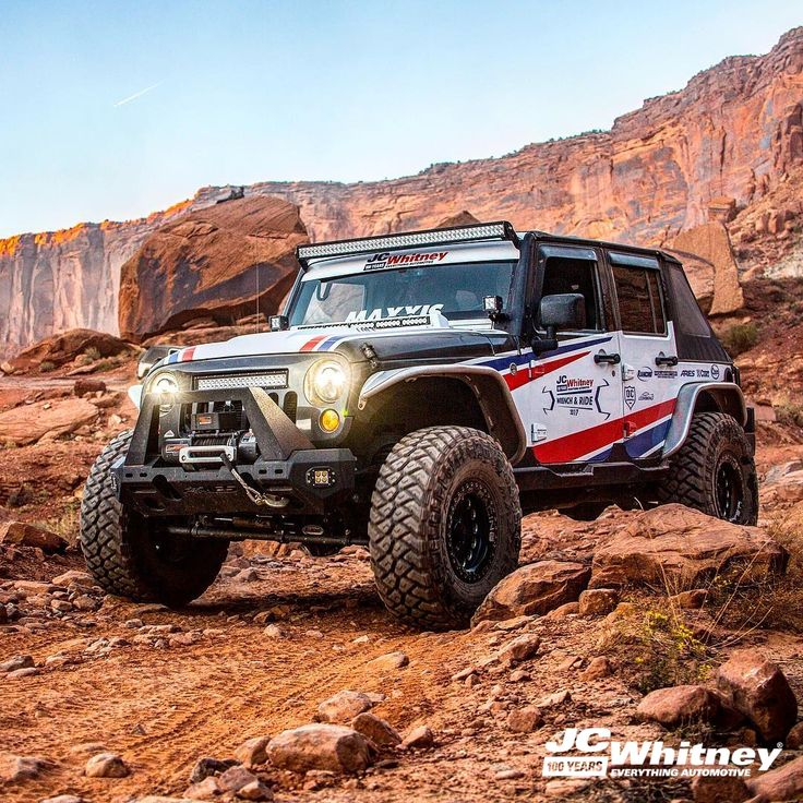 The JC Whitney jeep at last year's PowerStop TrailToSEMA