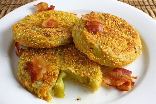 Fried green tomatoes... I always wanted to try this.: Onions, Side Dishes, Recipe, Cups, Butter, Fries Green Tomatoes, Salts, Fried Green Tomatoes, Irons Grill