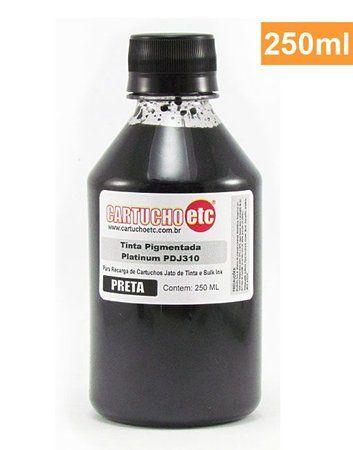 Tinta Pigmentada Formulabs PDJ310 para HP Preta 250ml