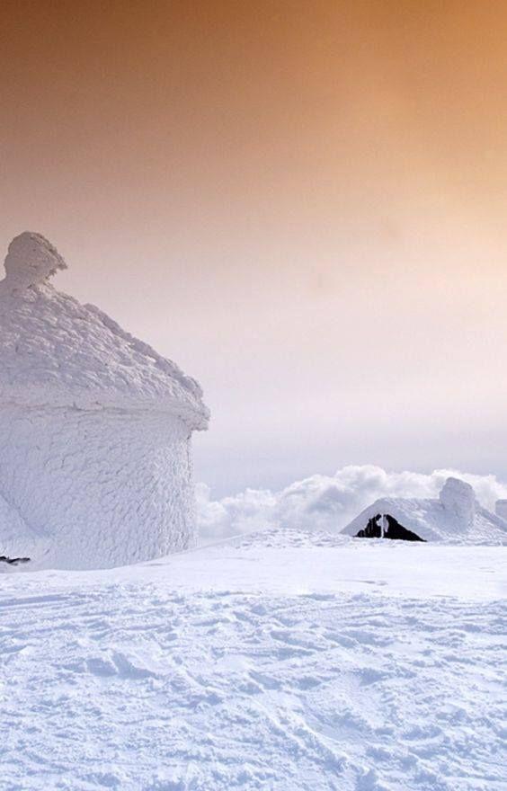 Giant Mountains - Pec pod Sněžkou- we like the winter pink way!