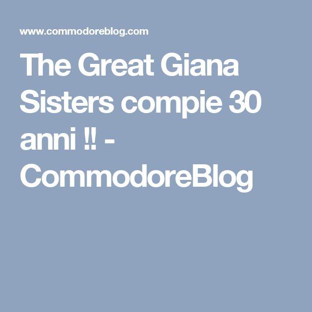 The Great Giana Sisters compie 30 anni !! - CommodoreBlog