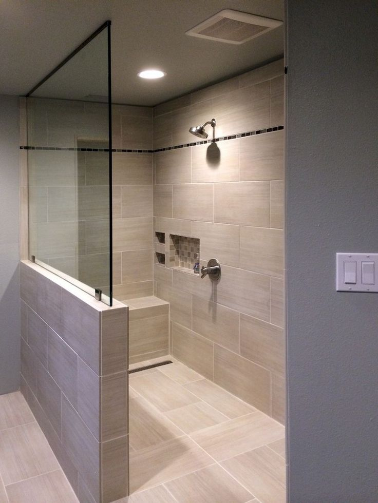 49+ Awesome Bathroom Shower Makeover Ideas – #Awes…