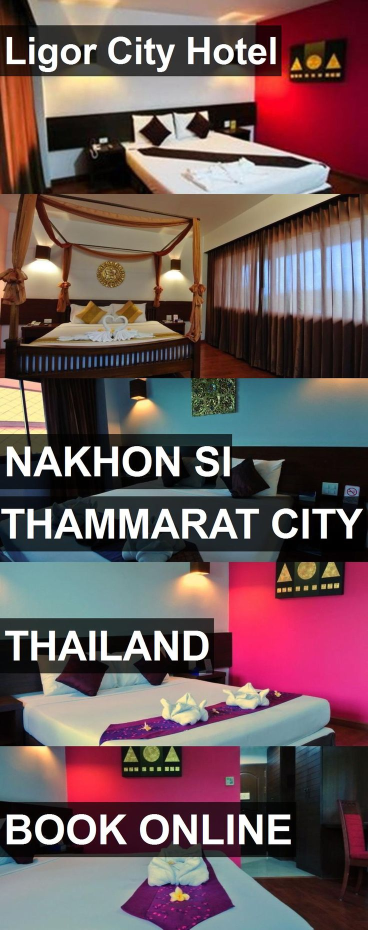 Ligor City Hotel in Nakhon Si Thammarat City, Thailand. For more information, photos, reviews and best prices please follow the link. #Thailand #NakhonSiThammaratCity #travel #vacation #hotel