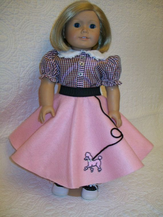 50's Poodle Skirt Set by OntheTownDesigns on Etsy, $40.00