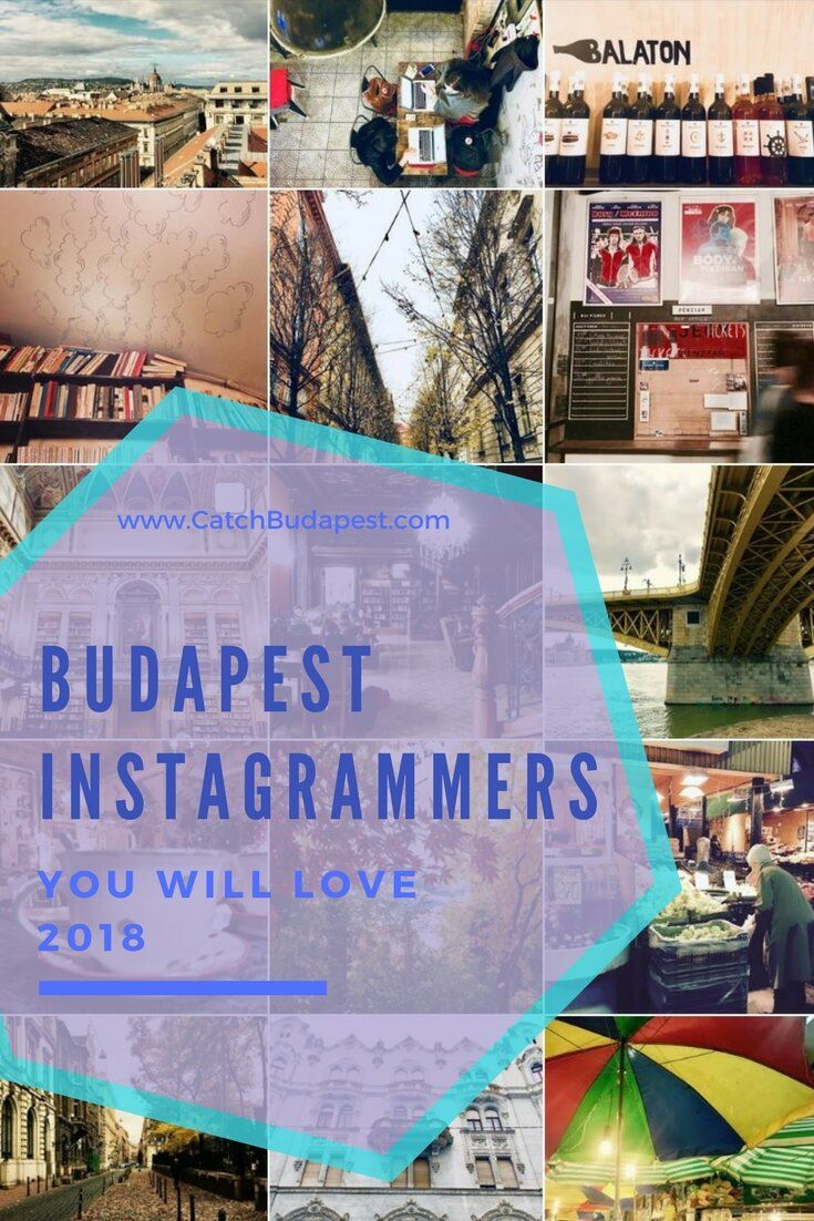 These Brilliant Instagrammers Will Make You Fall in Love With Budapest in 2018.  Looking for some creative beauty and motivation to spice up your days? Turn to these beautiful, interesting, curios and / or detail-loving Budapest Instagram-accounts and be inspired to focus more on your surroundings.  #budapest #instagram #2018 #catchbudapest