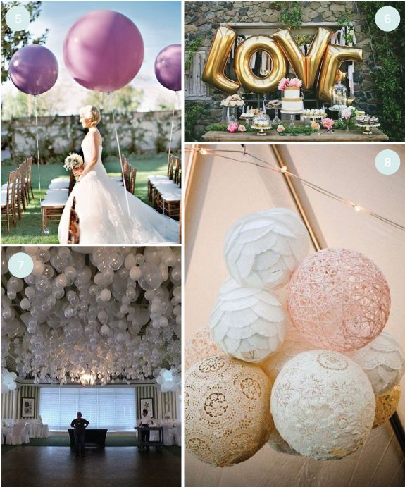 Balloon Decorations For Wedding Reception Ideas: DIY Wedding: 8 Wedding Balloon Ideas We Love
