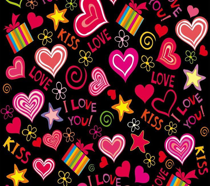 Liebeskuss, Orte Zum Besuchen, Valentinswünsche, Hearts, Gute Dinge, Küsse,  Herz Tapete, Tapeten, Bildschirme