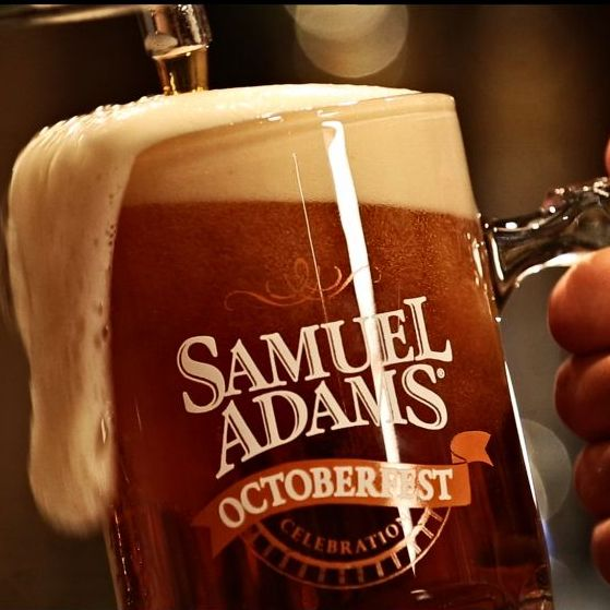 Samuel Adams Octoberfest available at Binny's