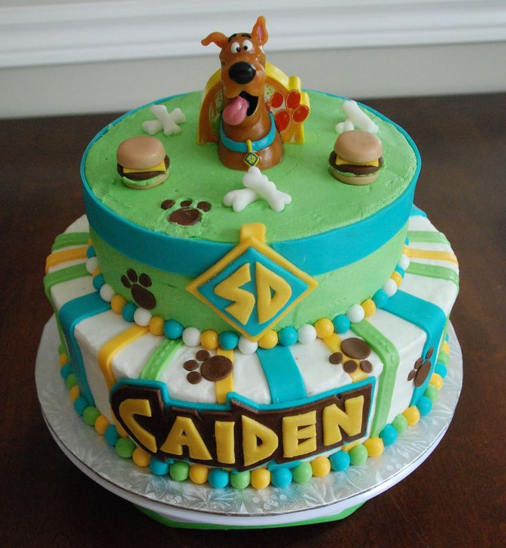 scooby doo birthday cake - Google Search