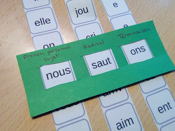 Le générateur de conjugaison permet de s'entraîner à la conjugaison en f…
