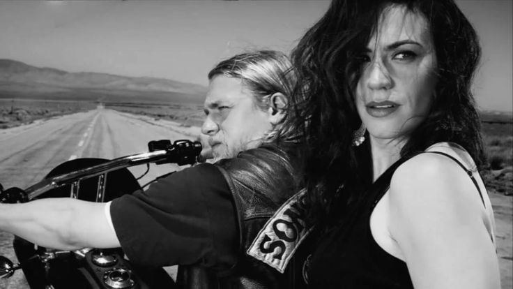 This is just some awesome ~ black and white photos from season 3.... Battleme - Hey Hey, My My (Sons of Anarchy S03E13)