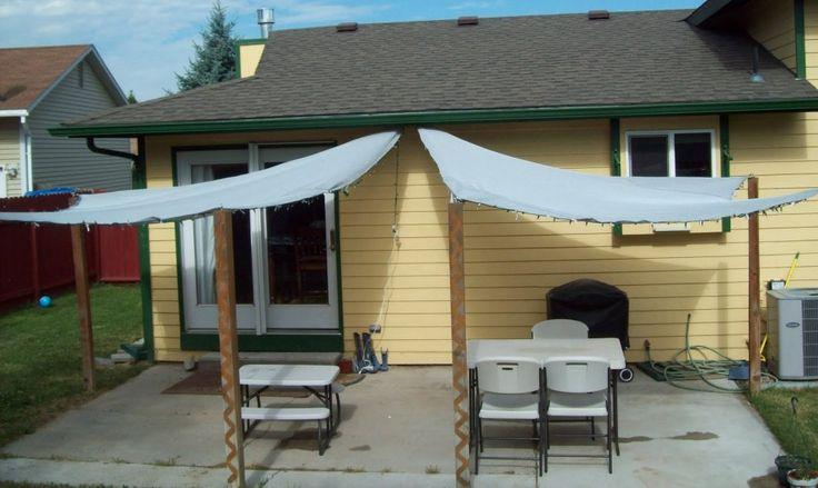 DIY Sun Shade Ideas  patio ideas  patio shade impressive patio sails