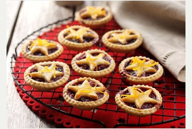 Feed the family for a fiver with blackcurrant and apple mince pies