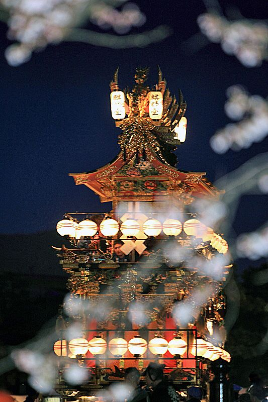 The flost for Takayama Festival, Gifu, Japan