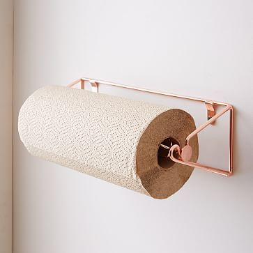 Wire Kitchen Paper Towel Rack #westelm #design #storage