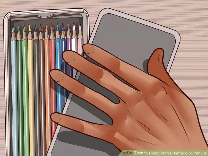Image titled Blend With Prismacolor Pencils Step 13