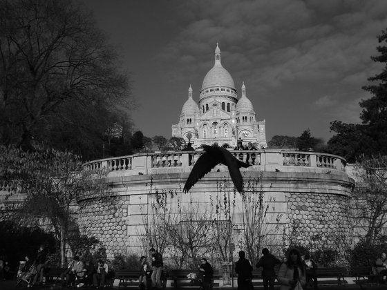L'anima nera del Sacre Coeur - una pic un po' dark di Kia8 a #parigi