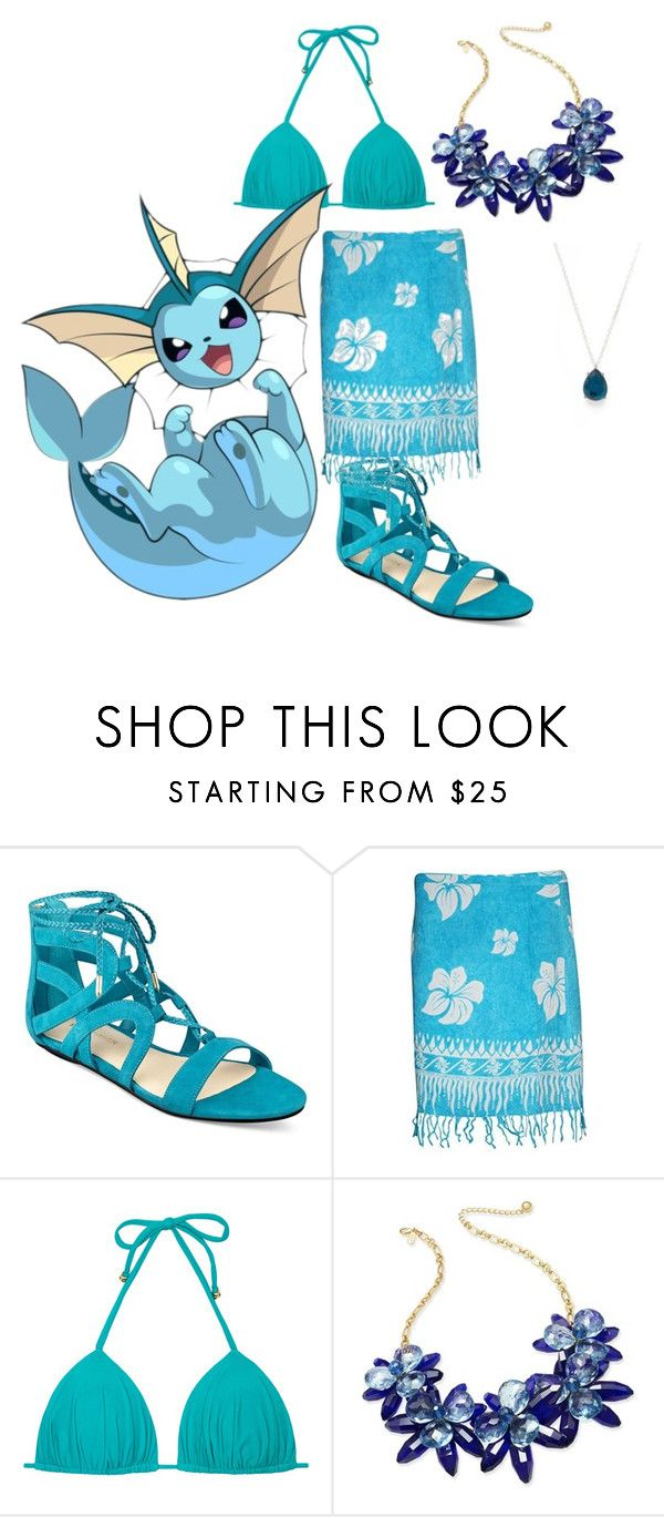 """""""Vaporeon"""" by mandalinaqitrydewi on Polyvore featuring Marc Fisher, Kate Spade and Ippolita"""